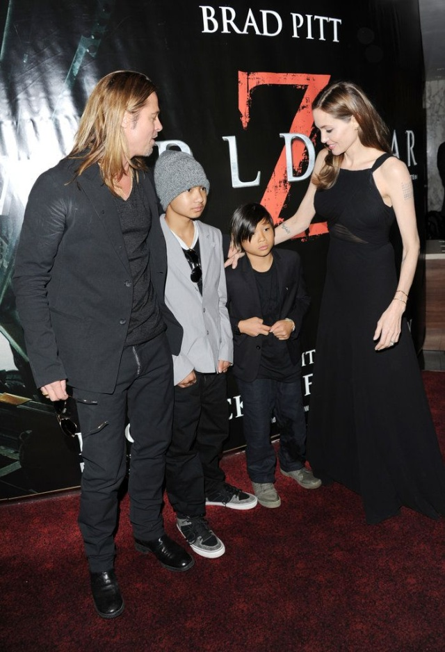 Brad and Angelina at World War Z Premiere..Leicester Square, London..June 2nd, 2013 - Page 3 1d11b116