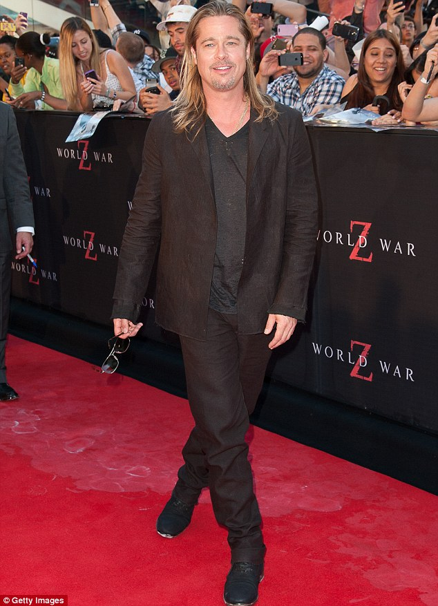 Brad at World War Z Premiere, New York..June 17th 2013 20082022
