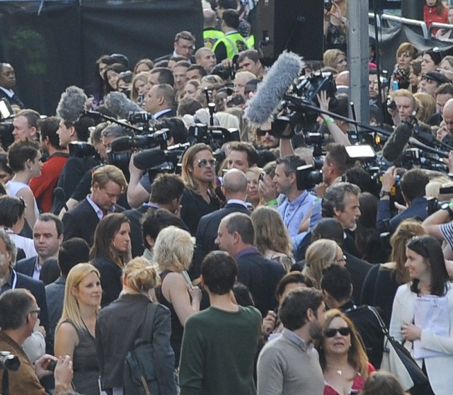 Brad and Angelina at World War Z Premiere..Leicester Square, London..June 2nd, 2013 - Page 3 240_pi10