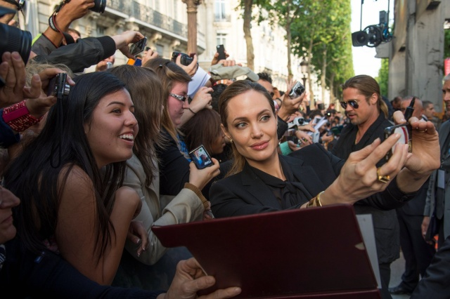 Brad and Angelina World War Z Premiere,UGC Normandie Movie Theatre.. Paris,France..June 3rd 2013 240_pi11