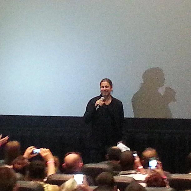 Brad at World War Z Screening, Hoboken, New Jersey..May 22nd 2013 2ba16426