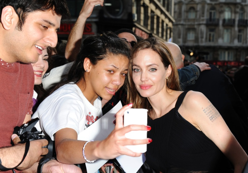 Brad and Angelina at World War Z Premiere..Leicester Square, London..June 2nd, 2013 2ba16435