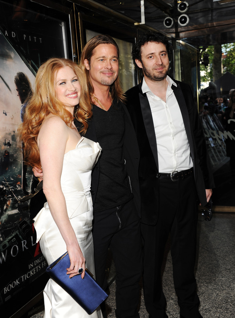 Brad and Angelina at World War Z Premiere..Leicester Square, London..June 2nd, 2013 2ba16437