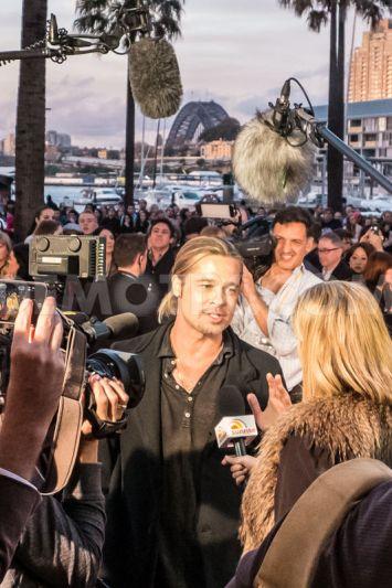 Brad at World War Z Premiere, The Star, Sydney Australia..June 9th 2013 2ba16455