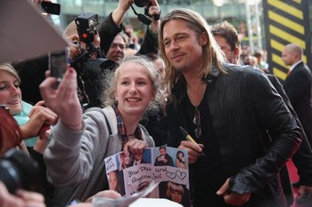 Brad and Angelina at World War Z Premiere, Sony Center..Berlin, Germany..June 4th 2013 - Page 2 2ba16458