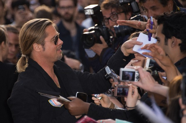 Brad and Angelina World War Z Premiere,UGC Normandie Movie Theatre.. Paris,France..June 3rd 2013 58bd3413