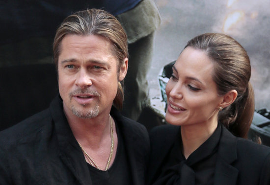 Brad and Angelina World War Z Premiere,UGC Normandie Movie Theatre.. Paris,France..June 3rd 2013 58bd3414