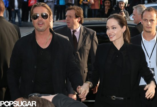 Brad and Angelina World War Z Premiere,UGC Normandie Movie Theatre.. Paris,France..June 3rd 2013 600ful12