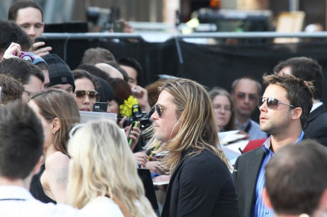 Brad and Angelina at World War Z Premiere..Leicester Square, London..June 2nd, 2013 - Page 3 6169_223