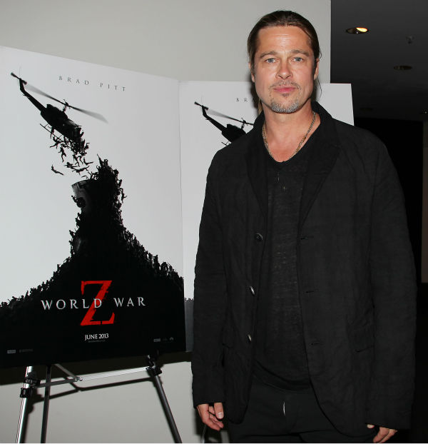 Brad at World War Z Screening, Museum of Modern Art, New York, May 22nd 2013 Da104210
