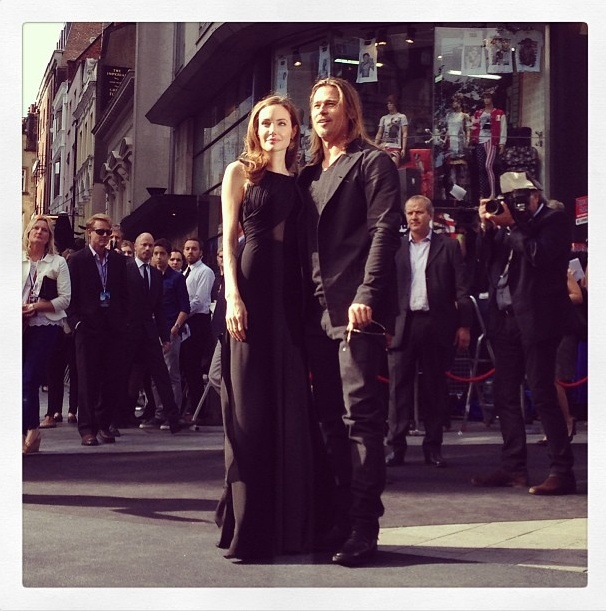 Brad and Angelina at World War Z Premiere..Leicester Square, London..June 2nd, 2013 - Page 2 Untitl10