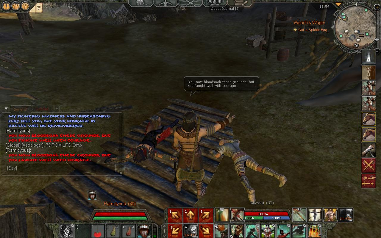 Reginer Death <<-- OUR ENEMY Lord of Chaos Leader have Been Killed in DUel By Lord Ramidyous 2d10