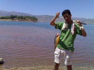 Le lac  BIN EL OUIDANE Pic-ab16