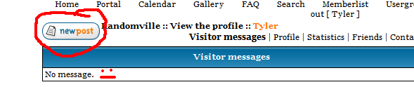 How to Post Visitor Messages Untitl12