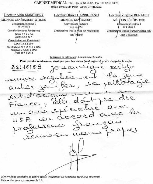 SAUVONS JENNYFER C EST URGENT Certif10