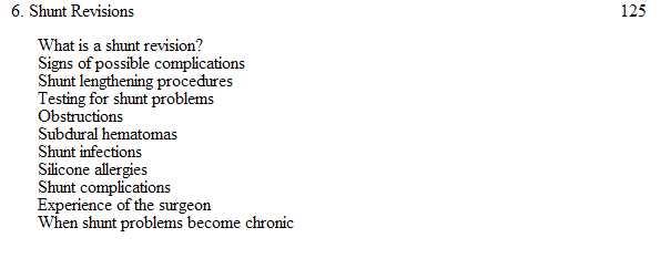 Hydrocephalus.. a guid for patients,families & friends Captur36