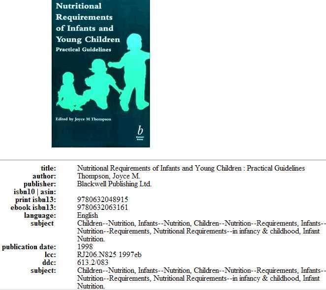 Nutrition requirments of infants & young children Captur70