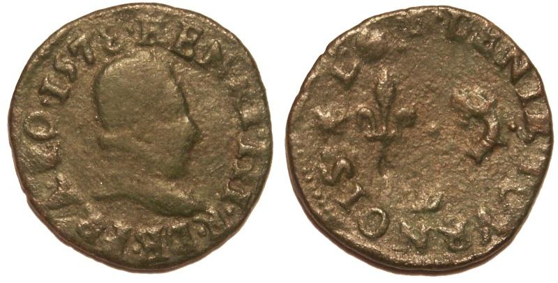 Denier Tournois du Dauphiné de Henri III Den_1511