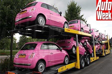 Fiat 500 nouvelle et ancienne insolite!!! Hertz-10