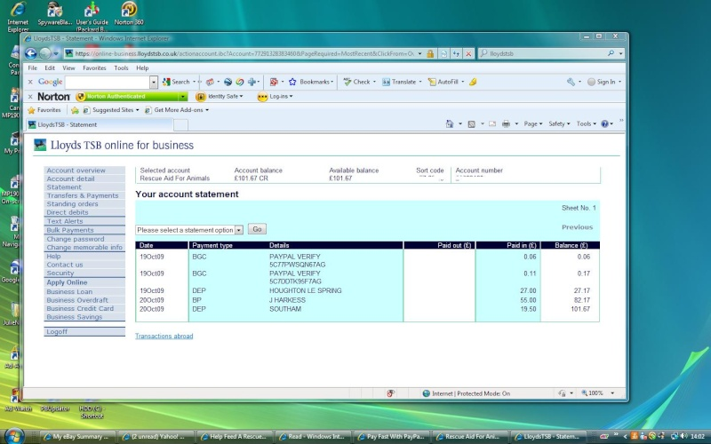 RAFA Bank Account Rafa_o10