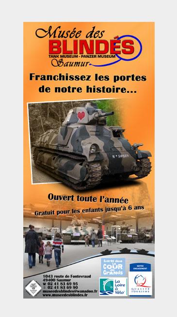 musée des tanks ou char d'assaut en France ,a saumur ...... Musee_10