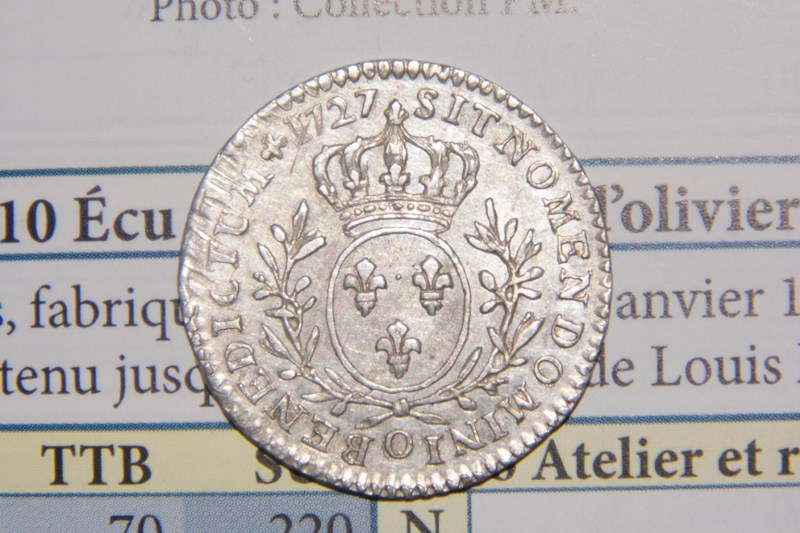 Louis XV, 1727 O Rv_17210