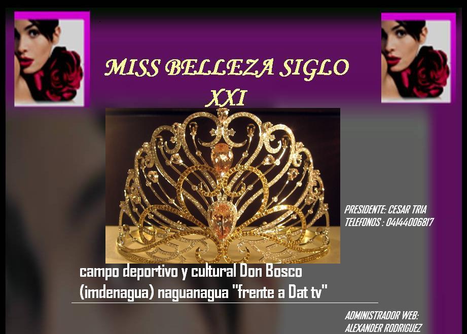 Miss Belleza Siglo XXI