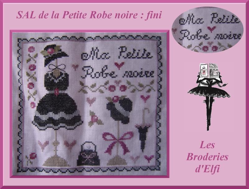 7e et dernier objectif du SAL de la petite robe noire !!! Montag12