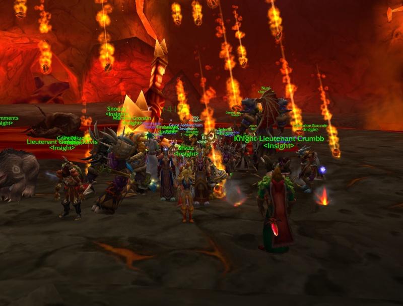 First raid with Guild Full MC Raid, Raggy downed. Wowscr12