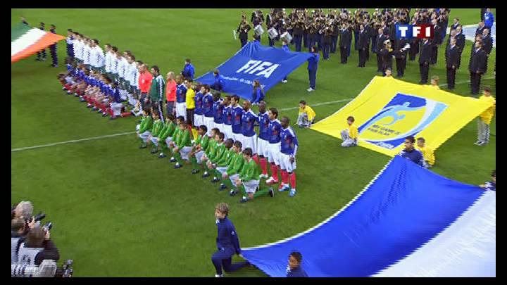 FRANCE - IRLANDE . A16