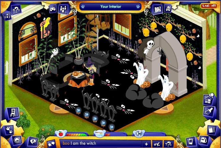 Winners: Spooky Avatar and Spooky Fun House Contests Myroom10