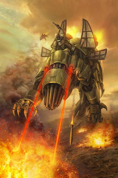 Basilisk War Droid - which version do you most like? Basili10
