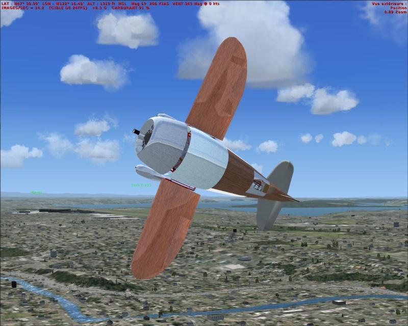 GeeBee R2 maquette Gbpeyo21