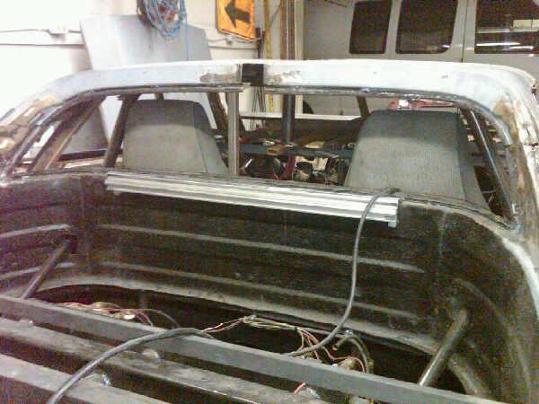 Progress on chop & roll cage! 1c10