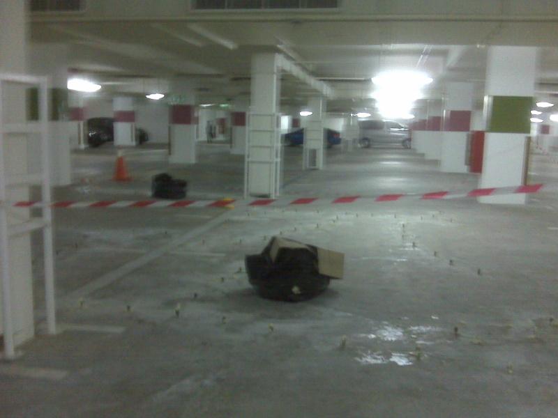 Problem in Basement 2 carparks Img00115