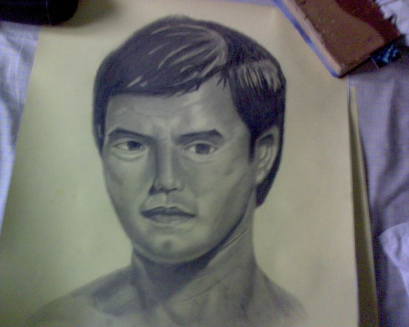 NEW DRAWING OF A China man  Dsc00011