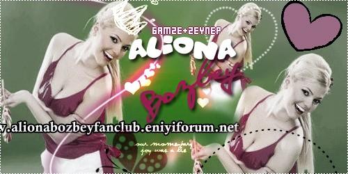 Aliona Bozbey Fan Club