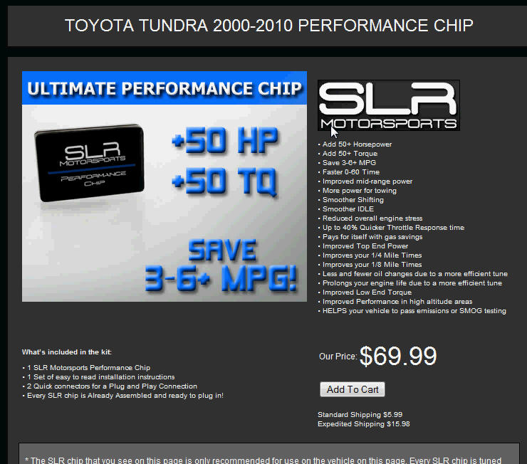 Performance Chip Slrchi10