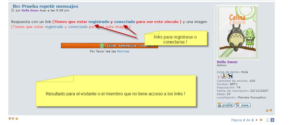 Posibilidad de poner permisos en las imagenes o en los vínculos en los temas Beta2114