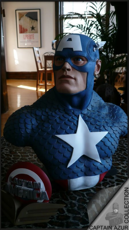 CAPTAIN AMERICA Legendary scale bust Cap1210
