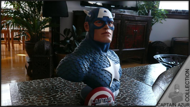 CAPTAIN AMERICA Legendary scale bust Cap310