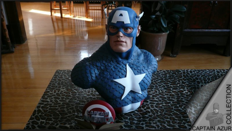 CAPTAIN AMERICA Legendary scale bust Cap410