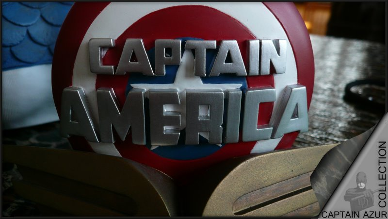 CAPTAIN AMERICA Legendary scale bust Cap510