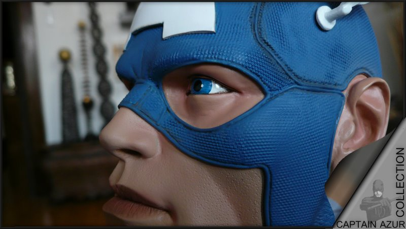 CAPTAIN AMERICA Legendary scale bust Cap610