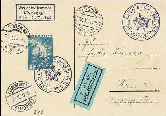 Ältere Flugpost aus Wien Zzzzzz10