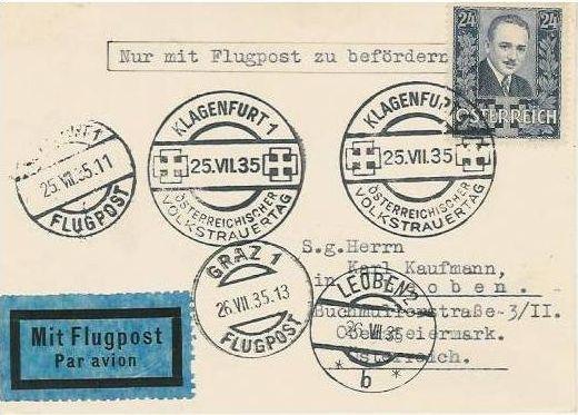 Ältere Flugpost aus Wien Zzzzzz11
