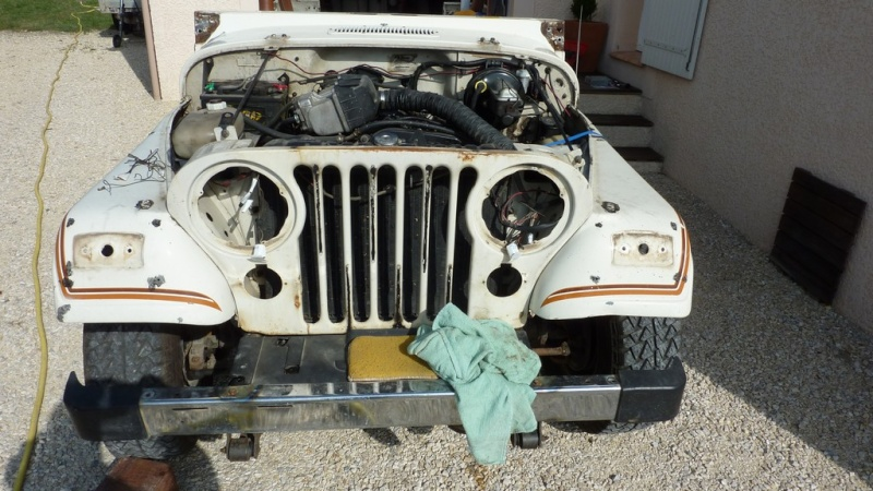 Restauration CJ7 Laredo D alias Maïté B10