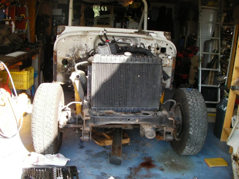 Restauration CJ7 Laredo D alias Maïté C10