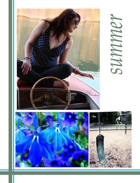 Assignment 11: portfolio book project Part One (Revised) Summer10