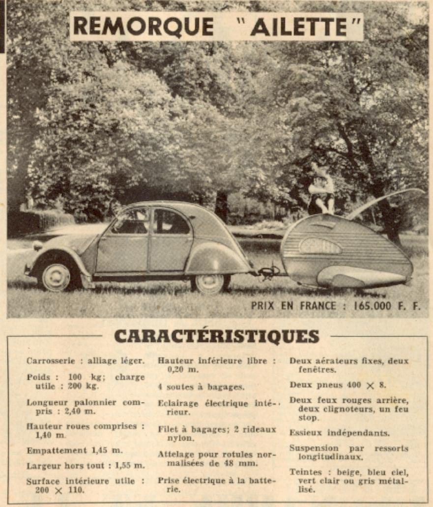 Recherche caravane AILETTE Garage11